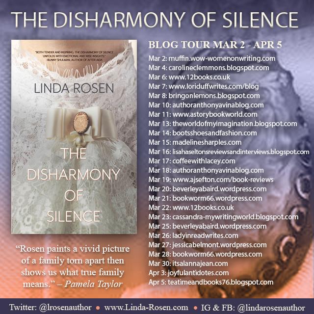 TheDisharmonyofSilence-LindaRosen-BlogTourLaunch (1)